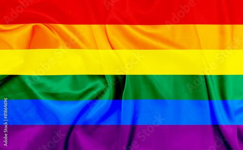 Fotografía LGBT waving flag