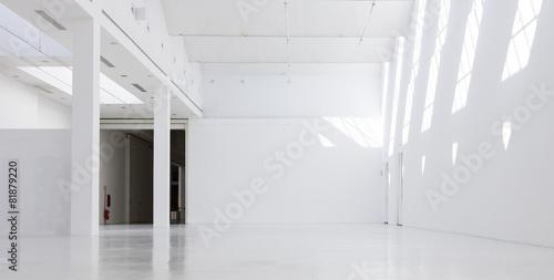 Staande foto Industrial geb. Industrial empty interiors