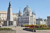 Fototapeta Miasto - Plac Wolności, Łódź