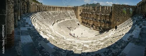 Aluminium Prints Ruins Aspendos Theater, Turkey