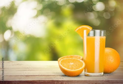 Foto op Canvas Sap Orange Juice. Orange Juice