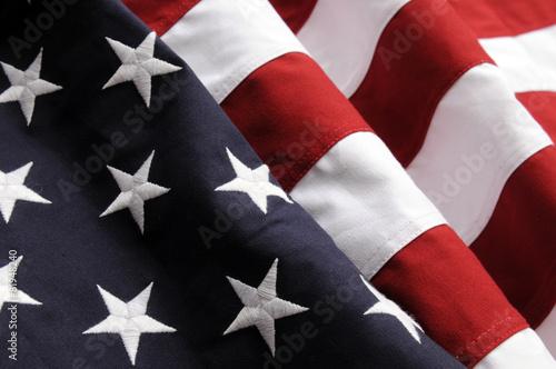 Cuadros en Lienzo Bandera estadounidense