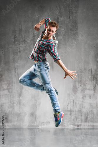Leinwand Poster  Der Tänzer