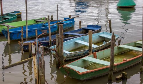 Photo  Canoas artesanais