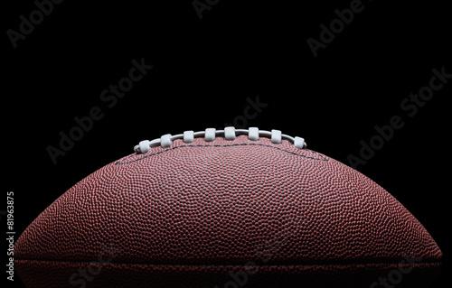 Fototapeta Futbol amerykański na czarnym tle