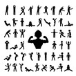 action people symbol
