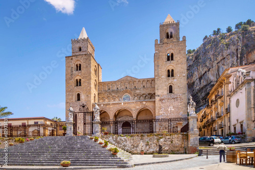 Keuken foto achterwand Palermo Cathedral of Cefalu, Sicily, Italy