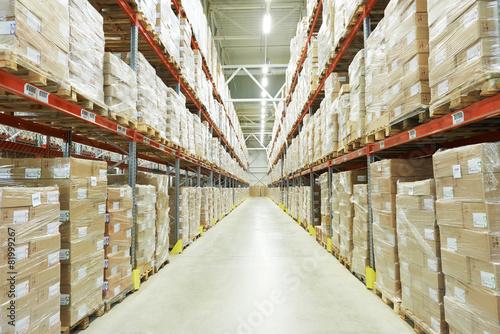 Fototapeta moderm warehouse