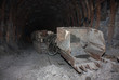 Mine machines in underground mines. Ukraine, Donetsk