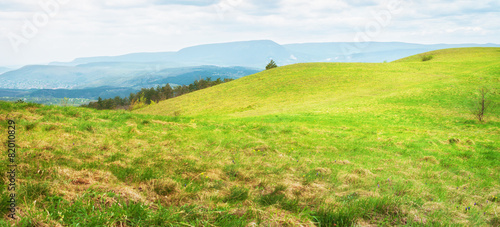 Canvas Prints Hill Scenery of rolling hills landscape.