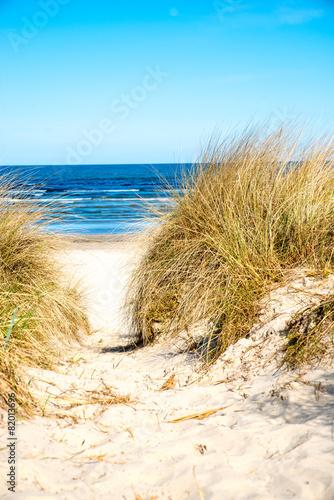Fototapeta morze Bałtyk wydmy-nad-baltykiem