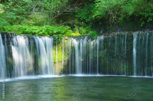 Poster Watervallen 白糸の滝・軽井沢