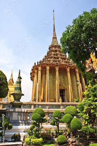 In de dag Bangkok Grand palace in Bangkok, Thailand