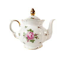 Porcelain Teapot With A Patter...