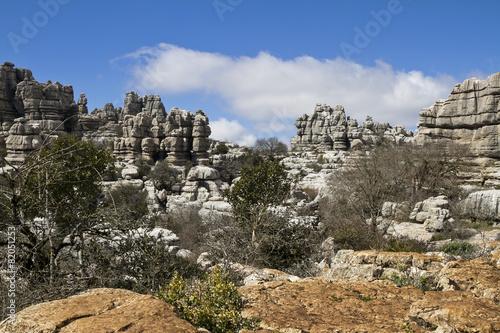 Fotografie, Obraz  Naturpark El Torcal de Antequera