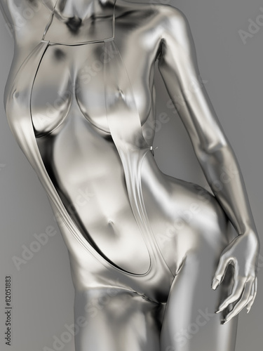 Silver female body - 82051883