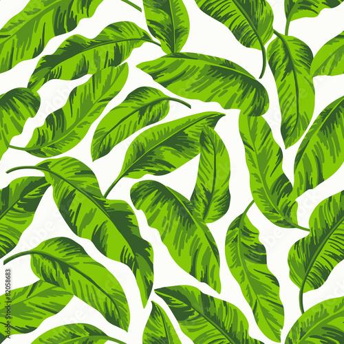 Fototapety, obrazy: Seamless exotic pattern.