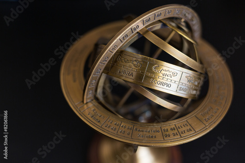 Astrolabe - Scorpio Canvas Print