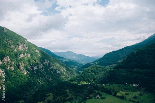 Foto op Plexiglas Turkoois mountains