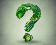 Green Diet Questions Concept R...