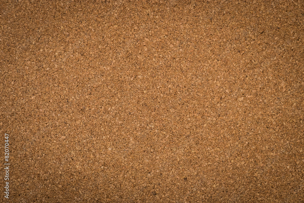 Fototapety, obrazy: Close up brown cork board texture