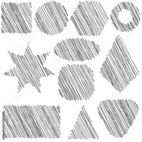 Fototapeta Grey Pattern obraz na płótnie