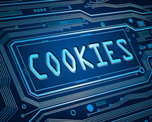 Cookies Concept.