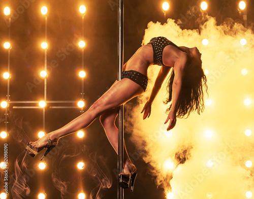 Fotografia  Sexy pole dancer