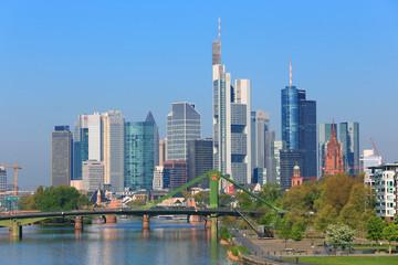 Frankfurt am Main, Blick aus Ost  (April 2015)
