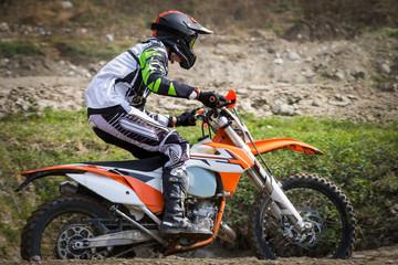 Fototapeta Motor motocross