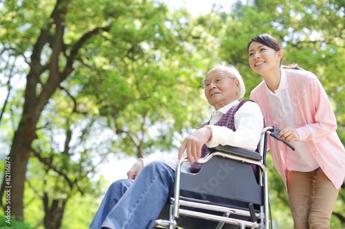 Fotografia  Opieka pielęgniarska · Wózek inwalidzki