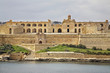 Fort Manoel near Sliema. Malta island
