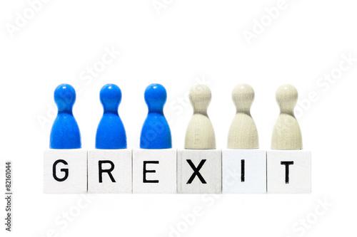 Fototapety, obrazy: Grexit