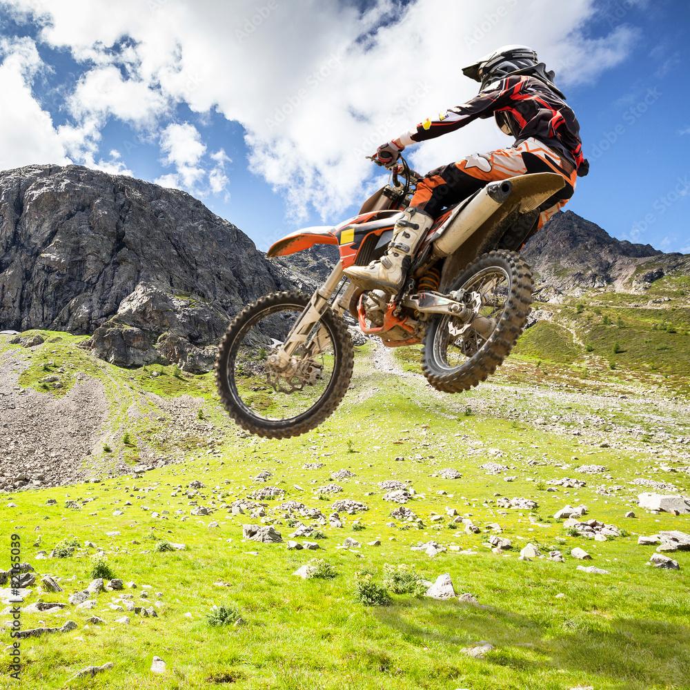 Fotomural motocross outdoor