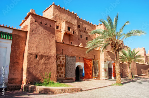Canvas Prints Morocco Taourirt Kasbah in Ouarzazate