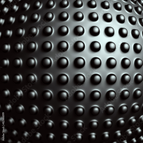 Dark Metallic Sphere Industrial Design Background #82166899