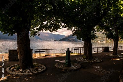 Valokuvatapetti Luino, Varese, Lombardia, Italia