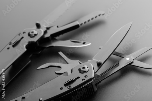 Fotografering Multitool knife
