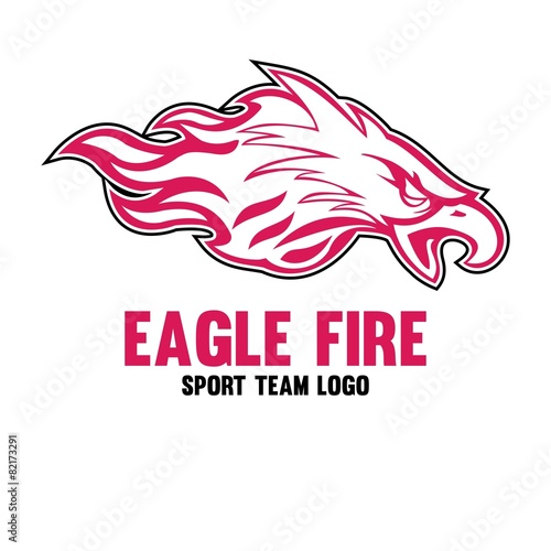 Eagle Fire Logo Templates - Buy this stock vector and explore ...