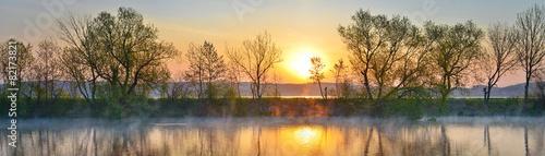 Foto op Canvas Rivier River