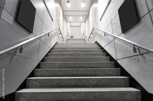 Obraz na płótnie stairs in building corridor
