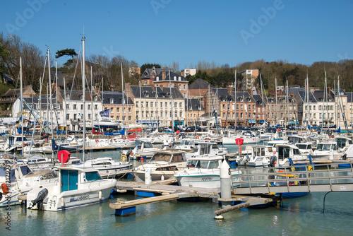 Garden Poster Cyprus Fishing port of Saint Valery en Caux, Normandy
