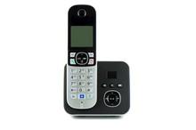 Wireless Black Telephone With Cradle