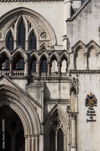 Photo  The Royal Courts of Justice, London High Court