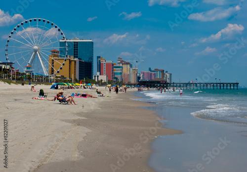 Fototapeta Myrtle Beach, South Carolina obraz