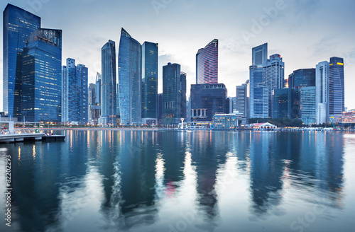 Foto op Aluminium Singapore Cityscape Singapore