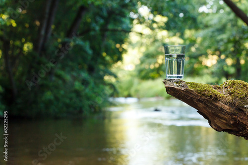 Foto op Canvas Water Clean water (healthy concept)
