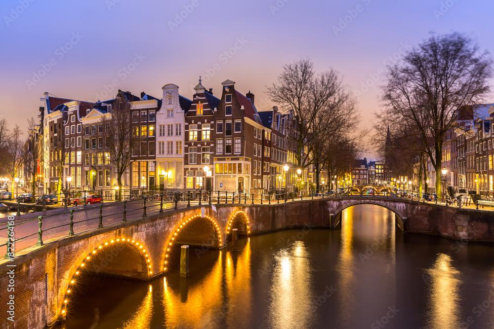 Valokuva  Amsterdam Canals