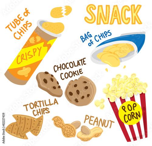 Fotografía  snack icon doodle
