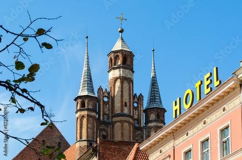 St. Mary's Church in Torun, Poland.